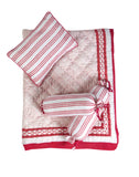 Malabar Baby | Crib Bedding Set (4-Piece) | Cairo Pink