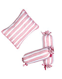 CAIRO PINK PILLOW & BOLSTER SET