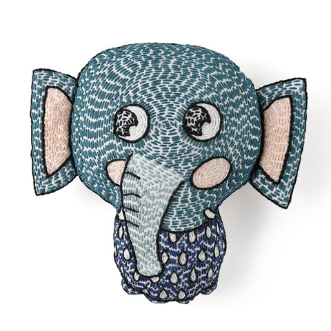 baby toys, handmade baby toys, elephant stuffed animal for babies, safari toys, safari, zoo themed toys, zoos for babies, decorative cushions for baby nurseries