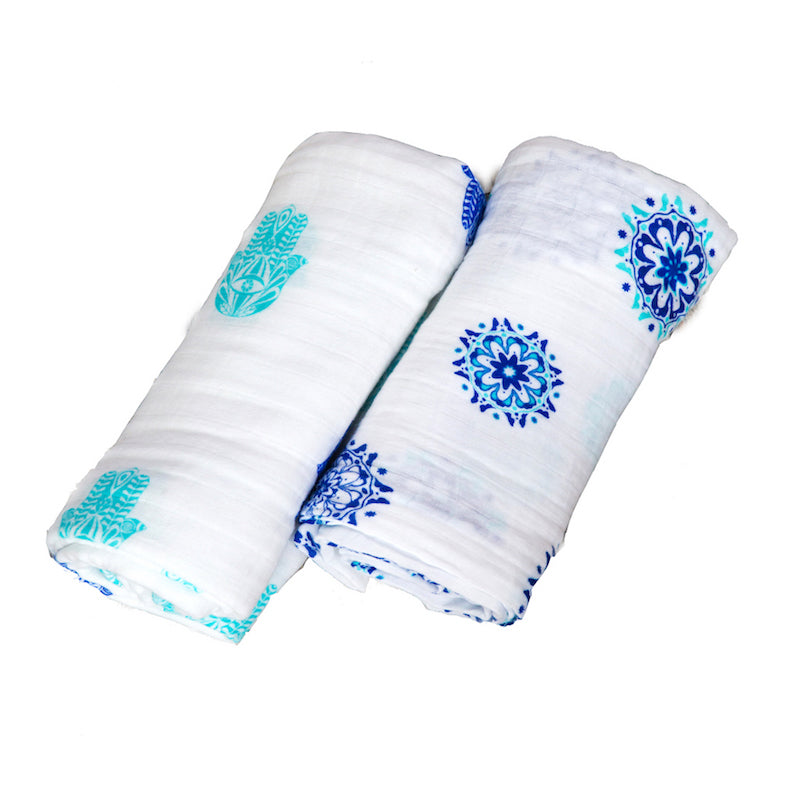 ORGANIC SWADDLE SET - PROTECTOR SERIES