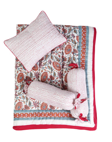 Malabar Baby | Crib Bedding Set (4-Piece) | Provence Pink