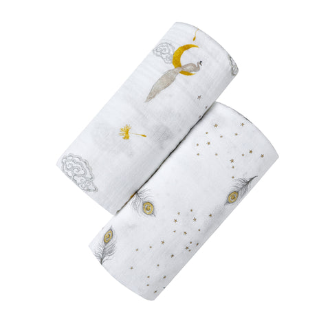 ORGANIC SWADDLE SET - SWEET DREAMS