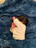 ORGANIC SWADDLE - STARRY NIGHT
