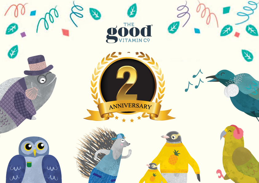 THE GOOD VITAMIN CO. TURNS 2