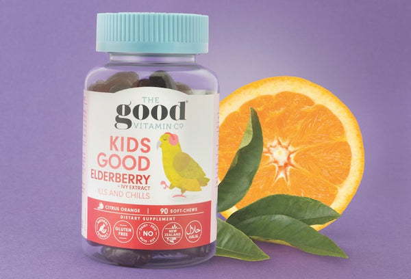 Elderberry's Natural Heath Support Supplements and Benefits For Kids!