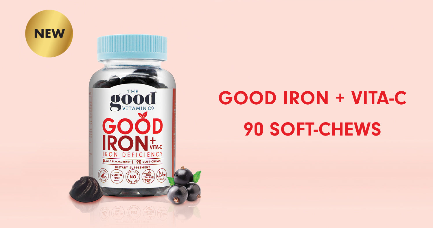 NEW PRODUCT! Good Iron + Vita-C - Iron Deficiency