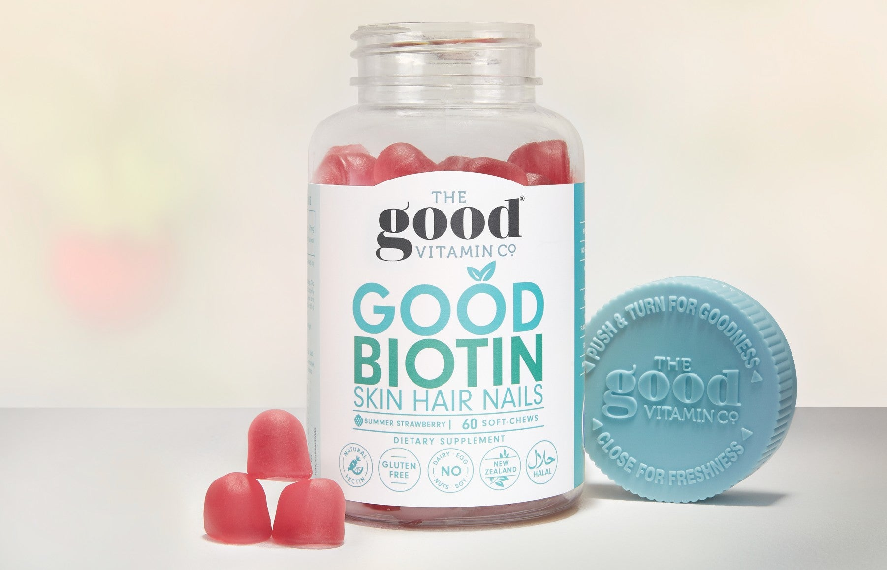 Supporting Healthy, Strong Hair With A Daily Dose of Biotin!