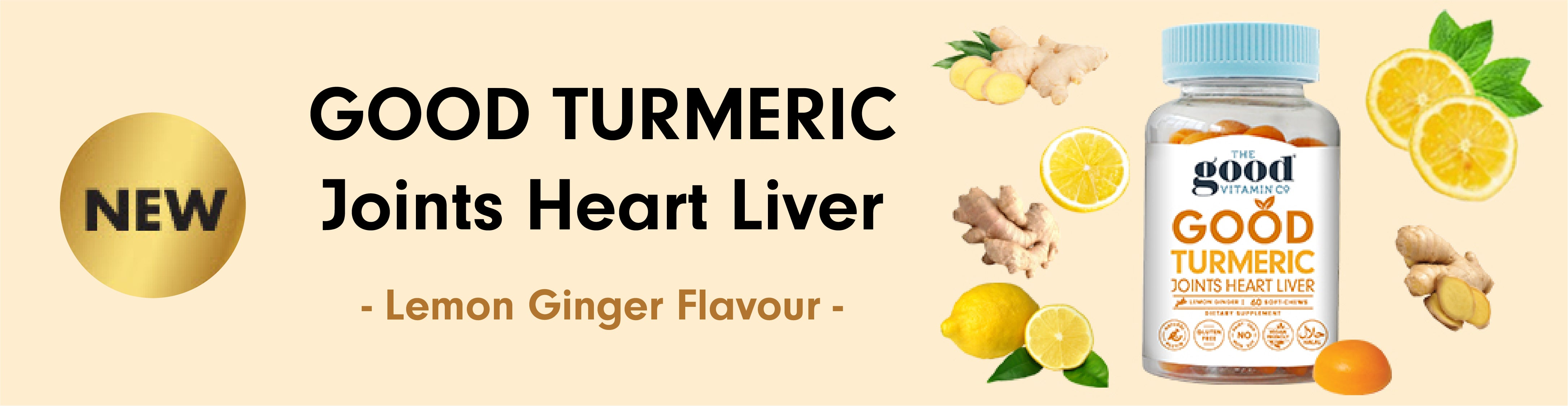 NEW PRODUCT! Good Turmeric - Joints Heart Liver