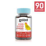 Kids Good Immunity Elderberry Supplements + Vitamin C + Ivy Extract