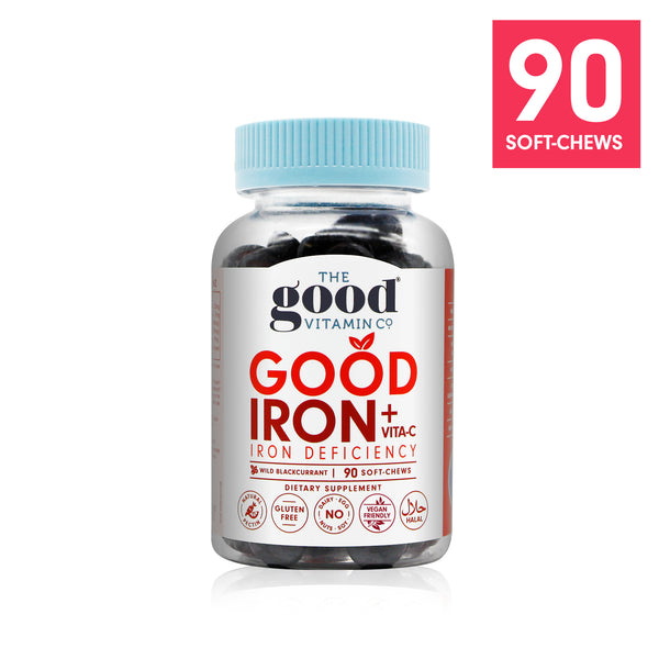 Good Iron + Vita-C Supplements