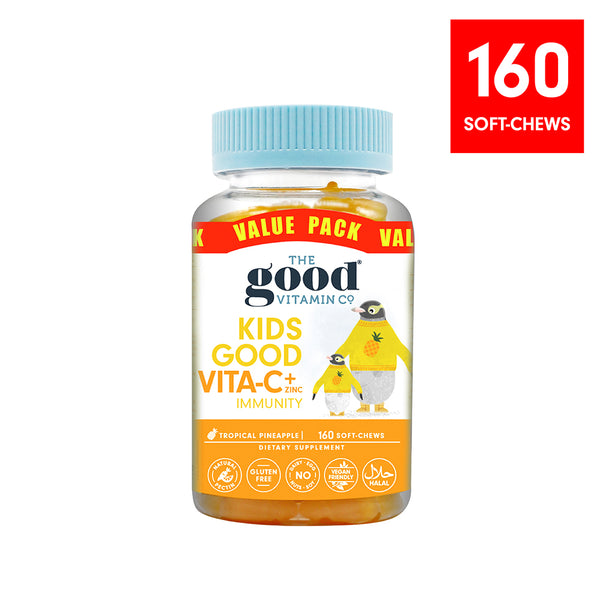 Value Pack Kids Good Vita-C + Zinc Supplements