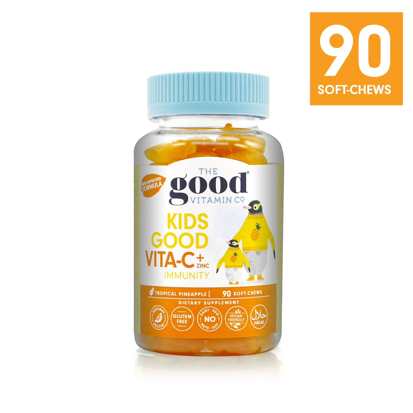 KIDS GOOD VITA-C+ZINC Product Info Link