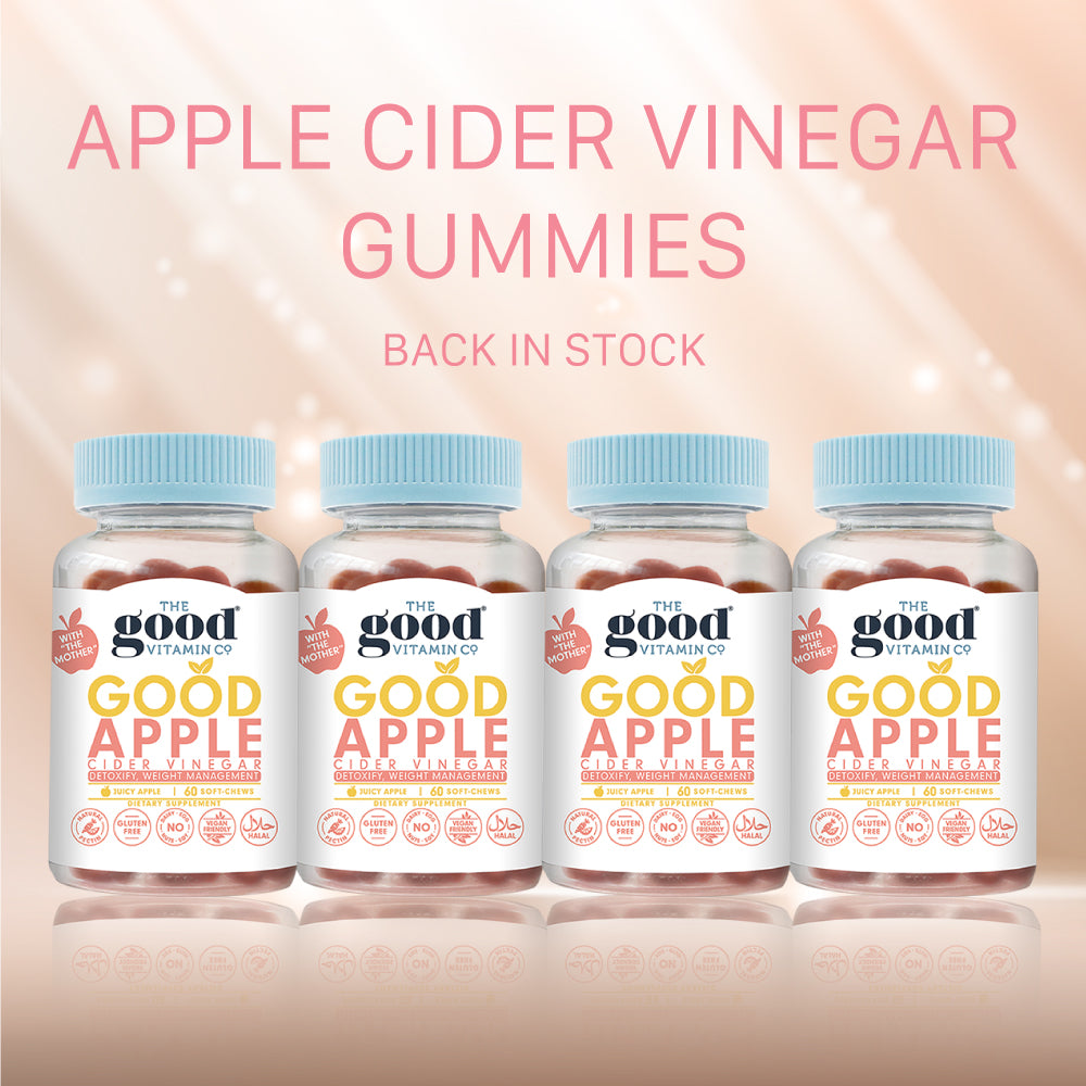 Good Apple Cider Vinegar Supplements 4 Pack