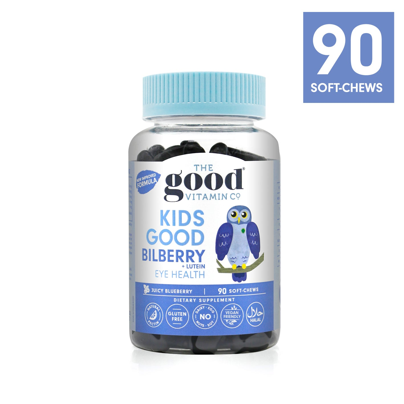 KIDS GOOD BILBERRY + LUTEIN Product Info Link