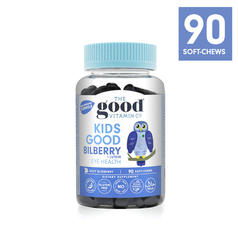 Kids Good Bilberry + Lutein Supplements