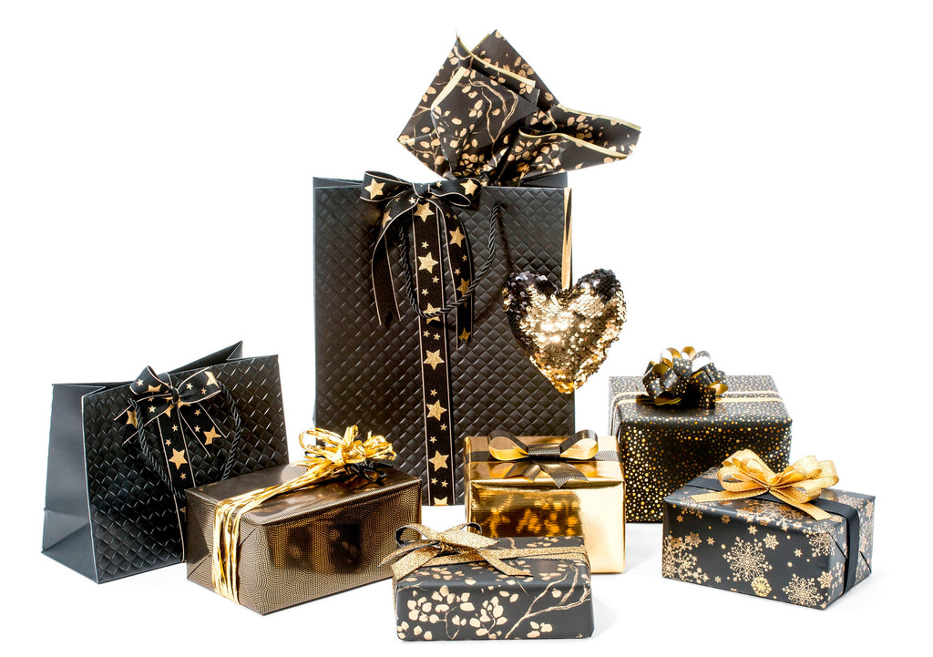 black and gold christmas collection