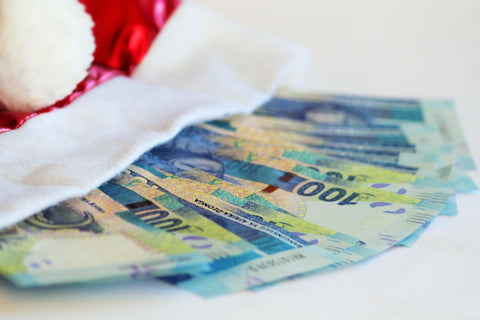 Money In Your Santa Hat