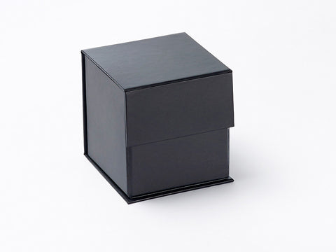 Small Black cube Luxury Gift box with magnetic closure (Pack of 12)