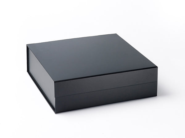 Large Black Luxury Gift box with magnetic closure (Pack of 12)