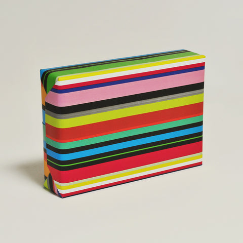 Black Stripe Colourific Counter Roll