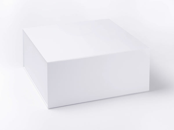 XL Deep White Luxury Gift box with magnetic closure (Pack of 12)