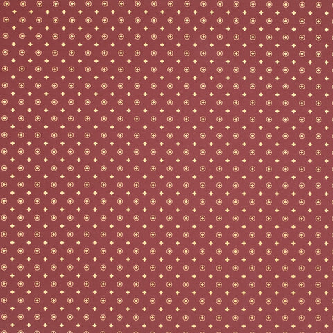 Vector Burgundy Gold Counter Roll (250m x 50cm)