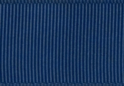 Light Navy Blue Grosgrain Ribbon cut to 80CM (24 pieces)
