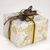 Sketch Gold and Silver Xmas Counter Roll 100m x 70cm