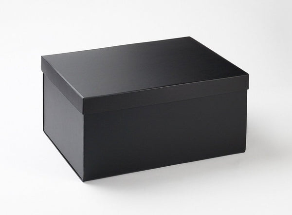 A3 Black Luxury Gift box tray and lid (Pack of 12)