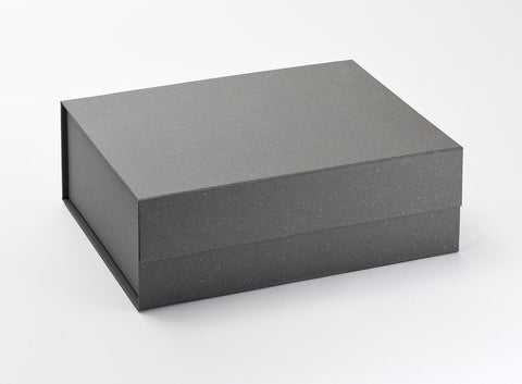 A4 Deep Grey Luxury Gift box with magnetic closure (Pack of 12)