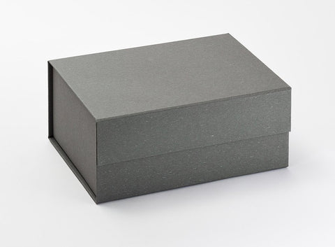 A5 Deep Grey Luxury Gift box with magnetic closure (Pack of 12)