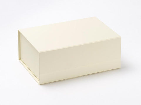 A5 Deep Ivory Luxury Gift box with magnetic closure (Pack of 12)