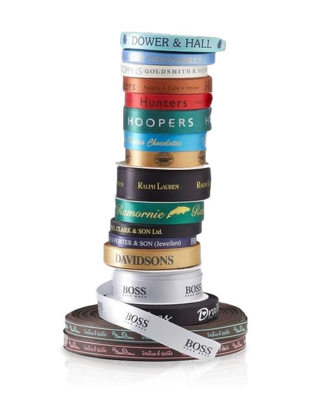 Bespoke Double-faced Satin Ribbon (1 Colour Print - 15mm Width)