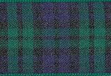 Black Watch Tartan Ribbon cut to 80CM (24 pieces)