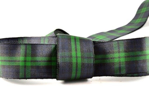 Black Watch Tartan Ribbon (25mm x 25m)