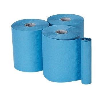 Blue Roll Wipe - 1 Roll