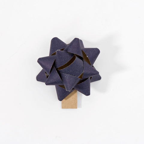 Recycled Bows - Blue (Pack 50) Single sided
