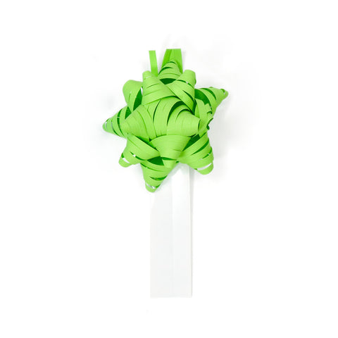 Bow Bag Seals - Apple Green (Pack of 60)