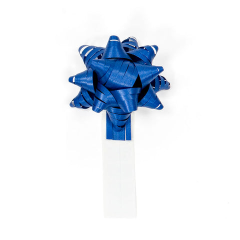 Bow Bag Seals - Blue (Pack of 60)