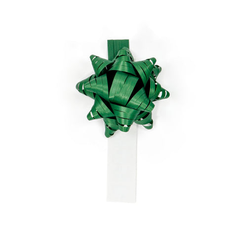 Bow Bag Seals - Dark Green (Pack of 60)
