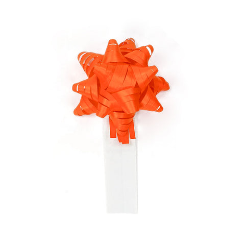 Bow Bag Seals - Orange (Pack of 60)
