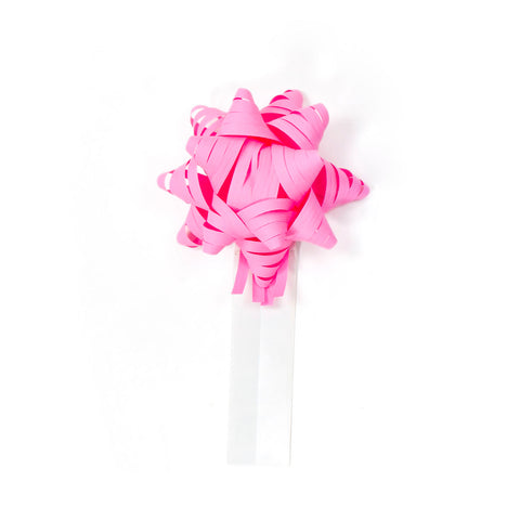 Bow Bag Seals - Pink (Pack of 60)