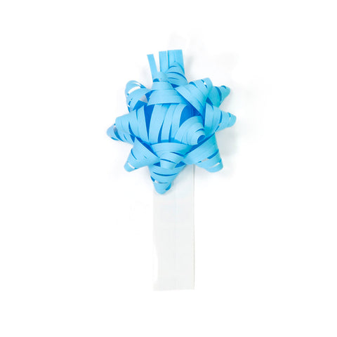 Bow Bag Seals - Sky Blue (Pack of 60)