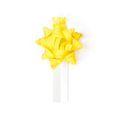 Bow Bag Seals - Yellow (Pack of 60)