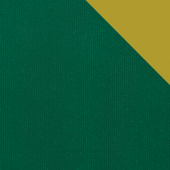 Kraft Colours Gift Wrap Sheets - British Racing Green/Gold Double-sided (250)
