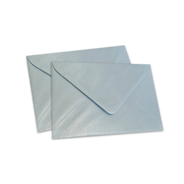 Pearlescent Envelopes C6 Baby Blue, Pack 1000