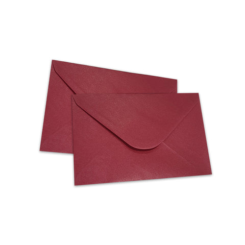 Pearlescent Envelopes C6 Cherry, Pack 1000