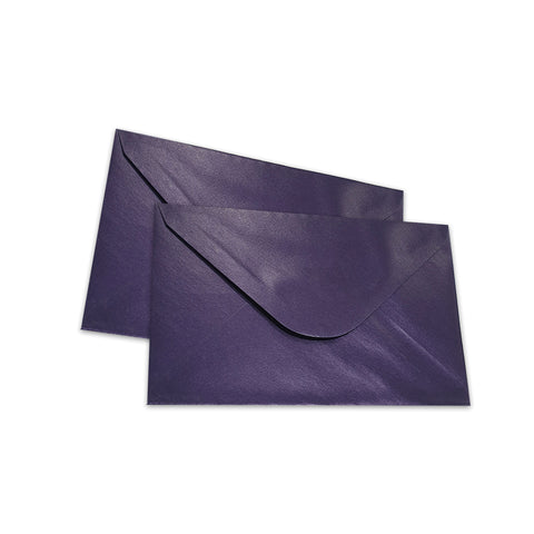 Pearlescent Envelopes C6 Deep Purple, Pack 1000