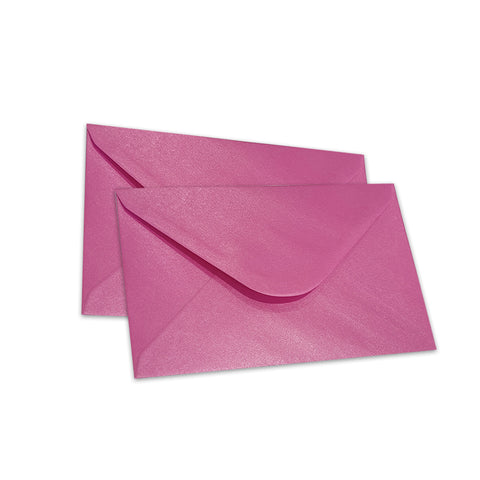 Pearlescent Envelopes C6 Fuchsia, Pack 1000
