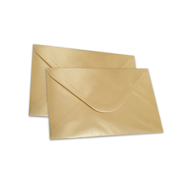 Pearlescent Envelopes C6 Golden Yellow, Pack 1000